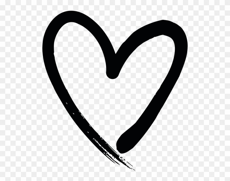 Download Hd Hand Drawn Heart Clipart And Use The Free Clipart For Your Creative Project Heart Hands Drawing How To Draw Hands Heart Drawing