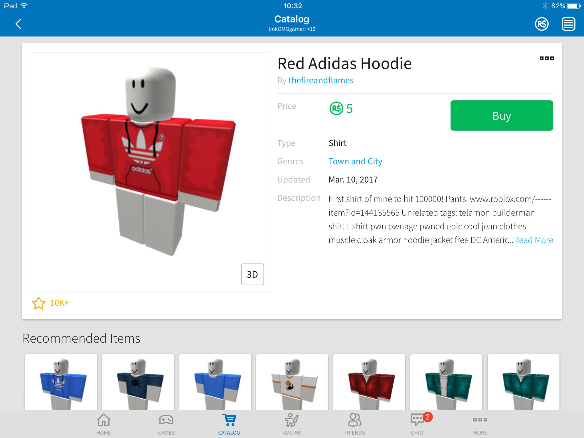 Red Adidas Hoodie Red Adidas Pwned