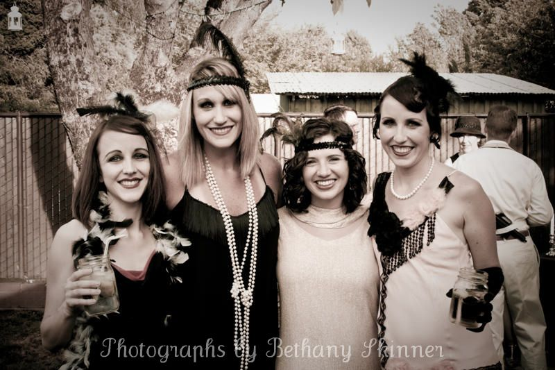 Guest photos from a 1920's themed party