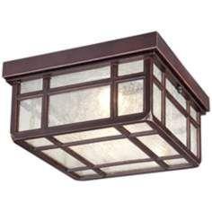 "Mission Hills 11"" Wide LED Outdoor Ceiling Light"