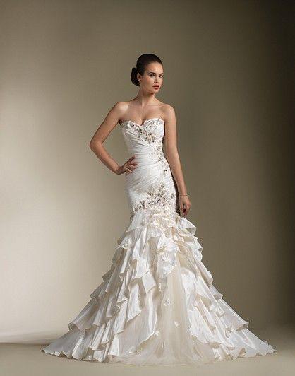 Justin Alexander 8602 Gorgeous | weddings | Pinterest | Mermaid ...