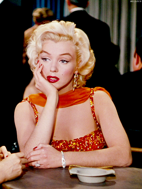 The 10 best fashion films from the 1950s: Marilyn Monroe in Gentlemen Prefer Blondes.