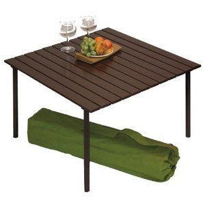 Table In A Bag Low Portable Table With Carrying Bag Portable Picnic Table Outdoor Picnic Tables Picnic Table