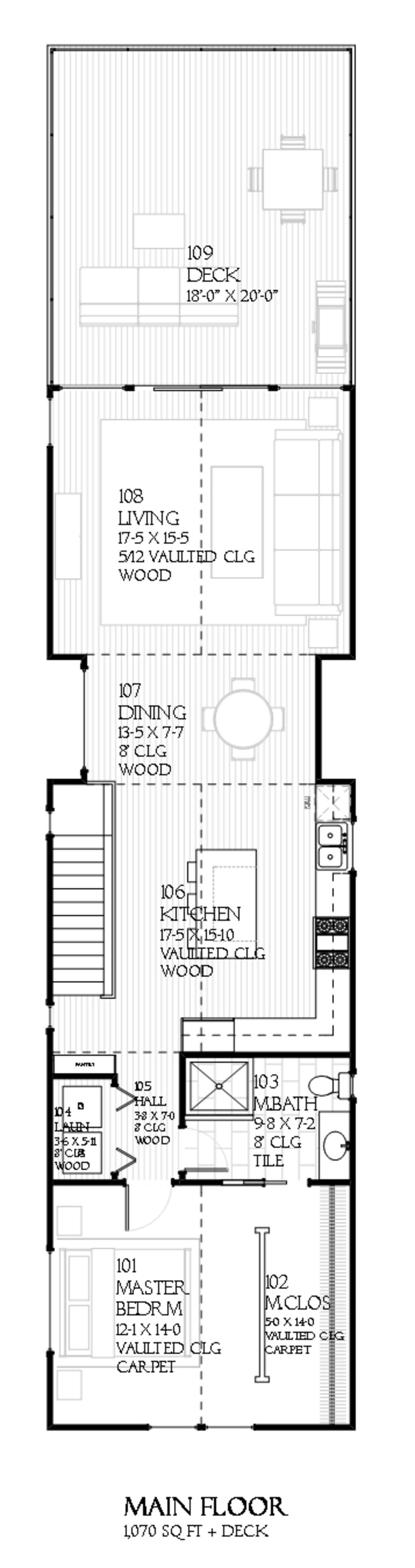 644f92926cd88 Cottage Style House Plan - 3 Beds 2 Baths 2024 Sq Ft Plan  901-25 Floor Plan  - Upper Floor Plan - Houseplans.com