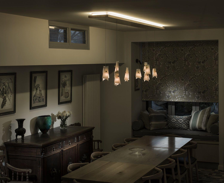 Bespoke Bespoke lighting, Dining room lighting