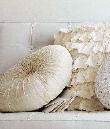 H M Round Cushion Pillows Home Textile Home Decor