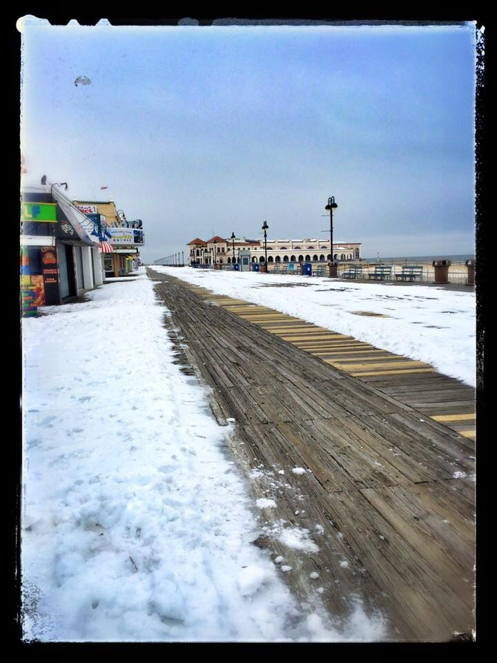 Beautiful With Or Without Snow Ocean City Nj Ocean City Beautiful Beaches