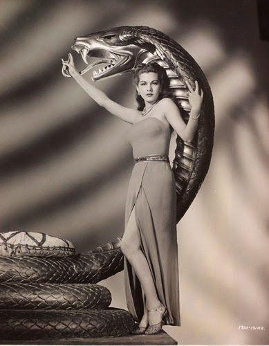 "Vintage Glamour Girls: Maria Montez in "" Cobra Woman """