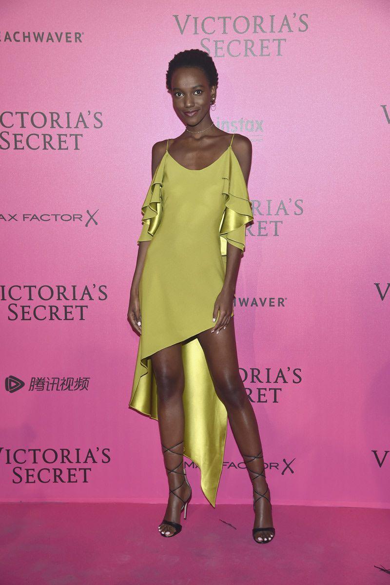 Herieth Paul - Red Carpet, Victoria\'s Secret Fashion Show 2016 ...