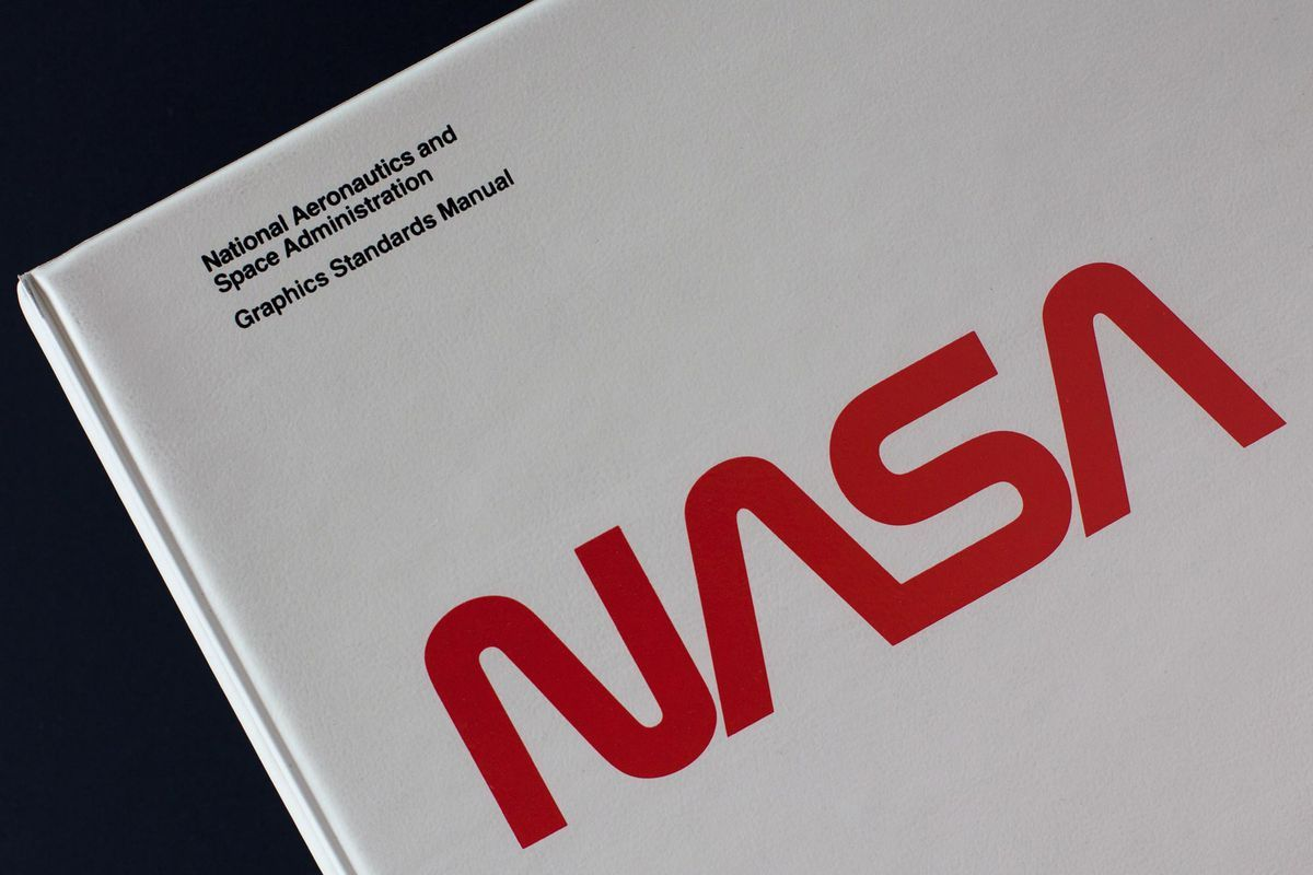 Two graphic designers are trying to preserve NASA's famous