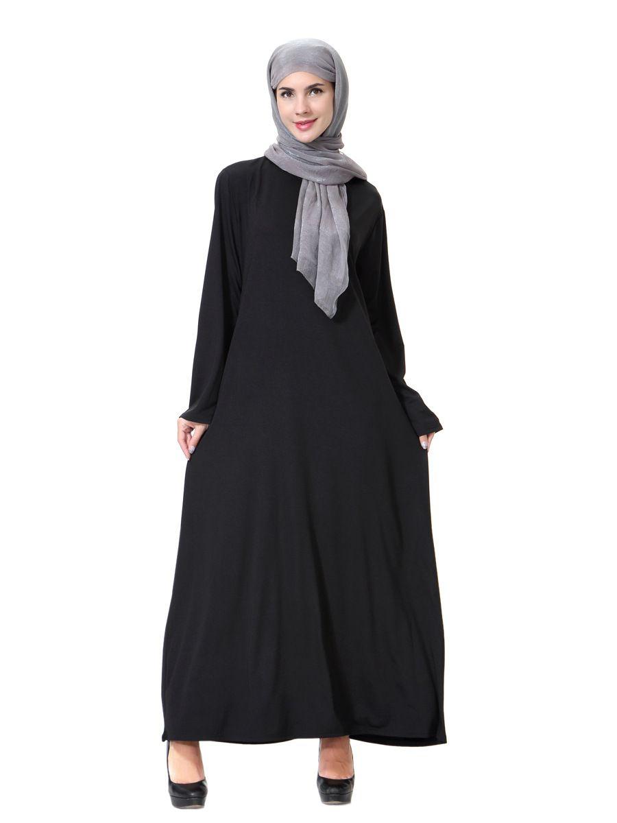 391070ac35 Muslim Women Abaya Lace Maxi Dress Cardigan Jilbab Nida Loose Style Middle  East Long Robe Dubai Ramadan Arab Islamic Clothing  Abaya sty…