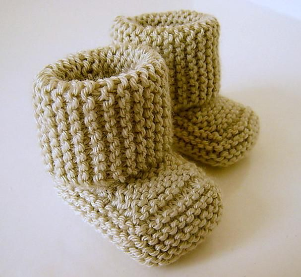 Oh Baby! Baby Booties - Knitting Patterns and Crochet Patterns from ...