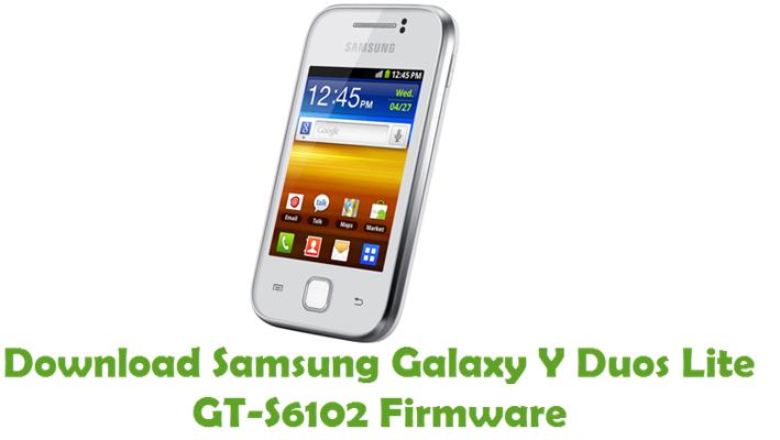 GT-S6102 - Samsung Galaxy Y Duos Firmware Download