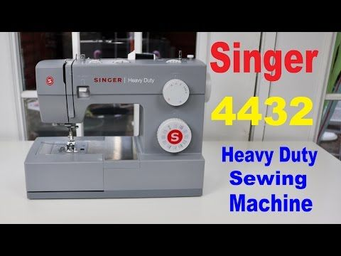 Singer Heavy Duty Sewing Machine 40 Review ✅ YouTube Sewing Custom Heavy Duty Sewing Machine Reviews