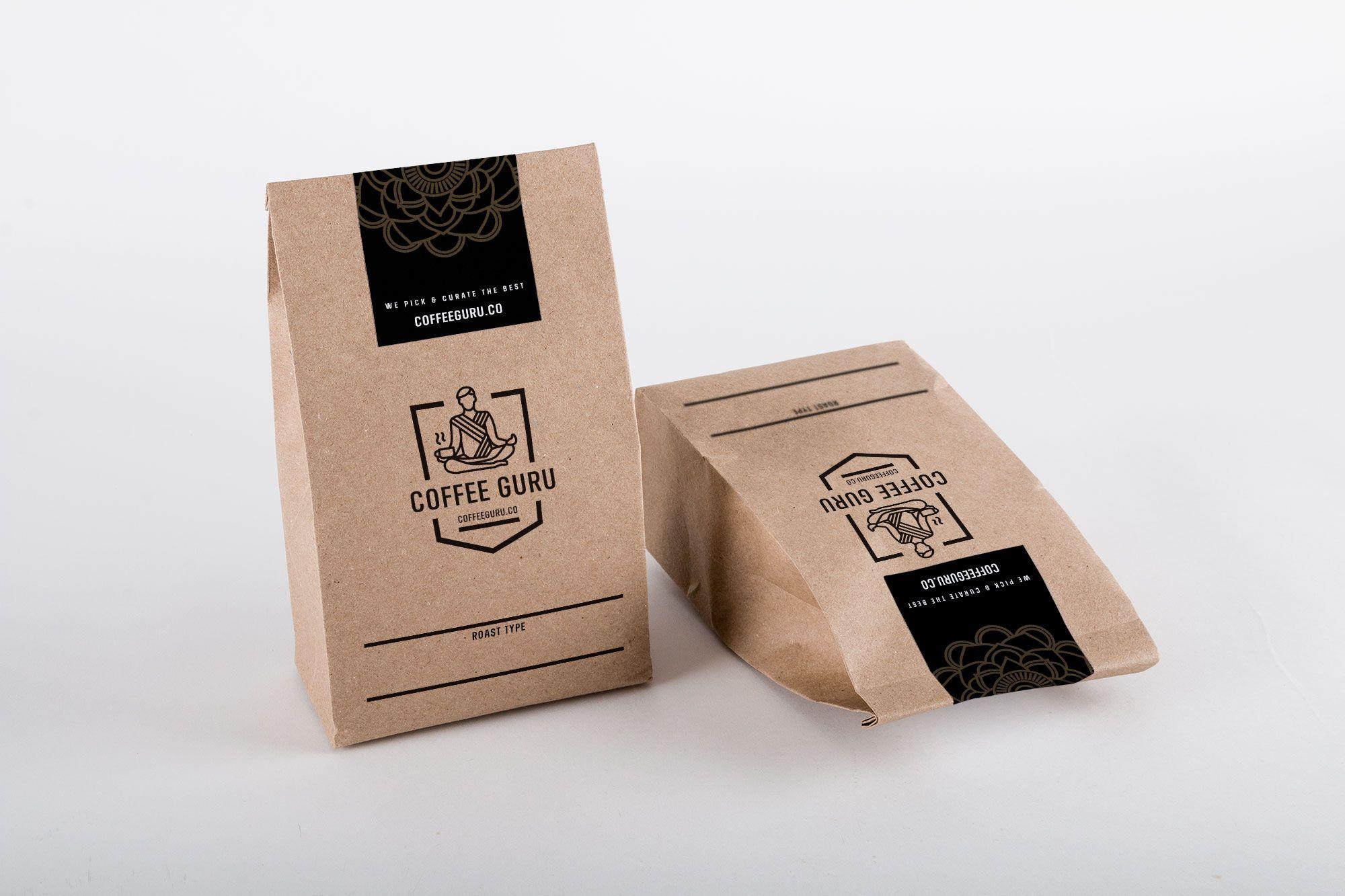 Download Coffee Bag Mockup 02 Coffee Bag Coffee Tea Packaging