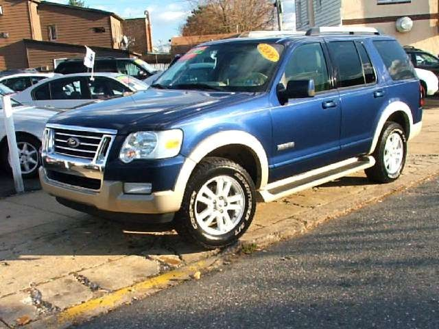 2006 Ford Explorer Eddie Bauer Suv 5 Door With Sunroof Moonroof
