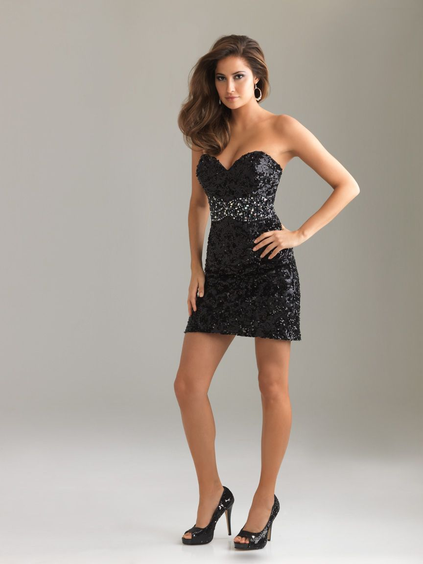 Sexy night moves prom dress this all over sequin prom dress