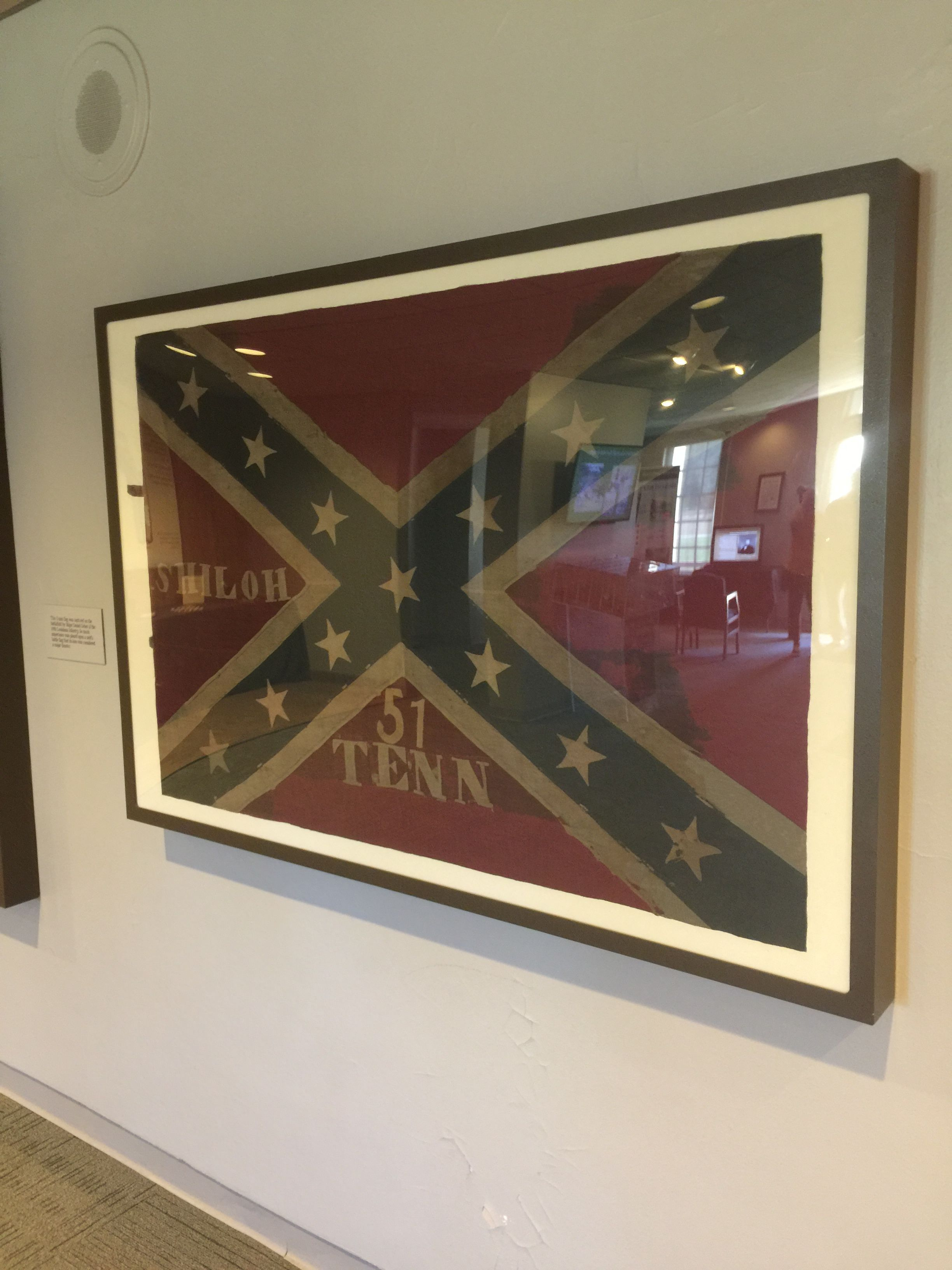 Regimental Battle Flag Of The 51st Tennessee Infantry