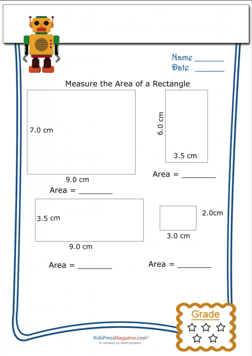 measure perimeter worksheet rectangle 5 measuring area geometry basics printable. Black Bedroom Furniture Sets. Home Design Ideas