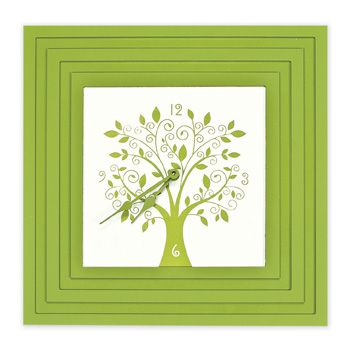 Square Clock Love The Apple Green Available In So Many Colors Nursery Ideas