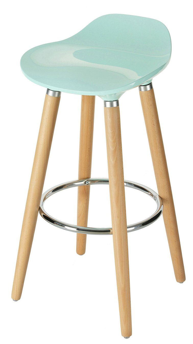 Orolay Abs Plastic Bar Stools Kitchen Breakfast Barstool With