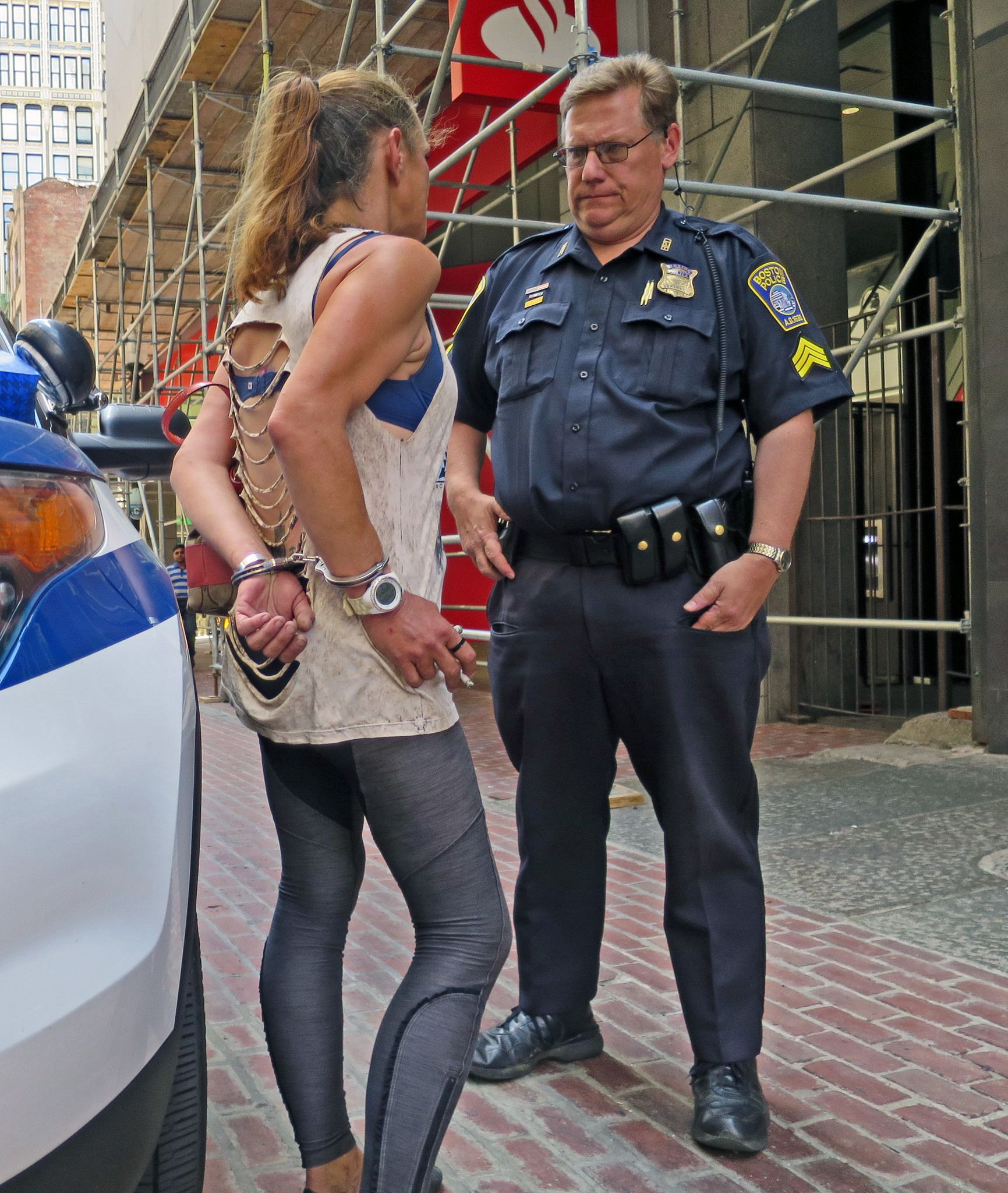 Two Young Women Arrested For Lesbian Kiss