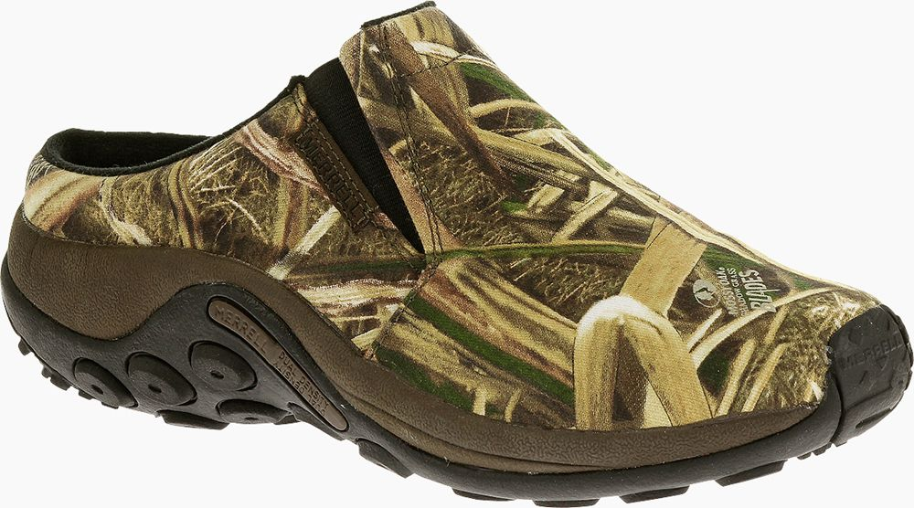best supplier 100% original wholesale price MERRELL Jungle Slide Camo in Mossy Oak Blades | Merrell ...