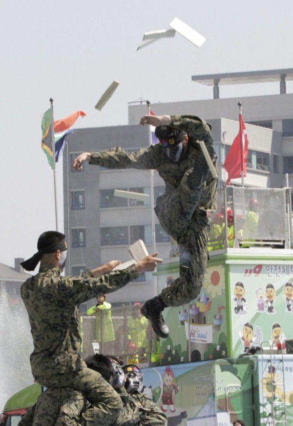 tropas de Corea del Sur