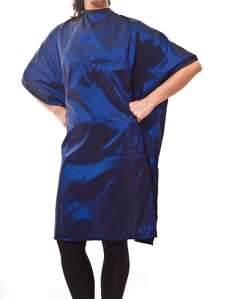 Reversible chemical cape- front | The Branded Barber | Cape