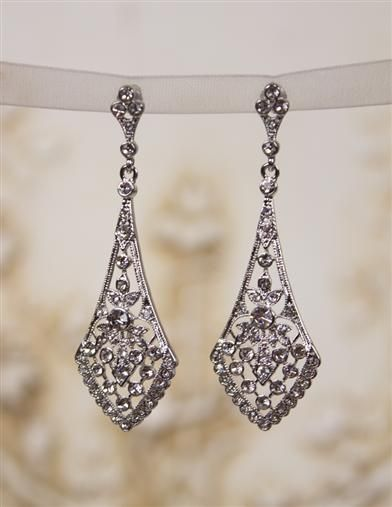 New 1920s Costume Jewelry Earrings Necklaces Bracelets Chandelier 19 95 At Vintagedancer