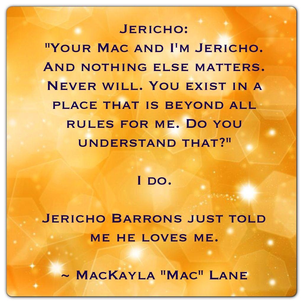 "Jericho Barrons and MacKayla ""Mac"" Lane (ShadowFever by Karen Marie Moning - Fever Series)"