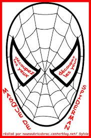 patron pour masque spiderman - Recherche Google | Coloriage spiderman, Spiderman, Coloriage ...