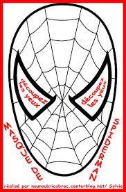 patron pour masque spiderman - Recherche Google
