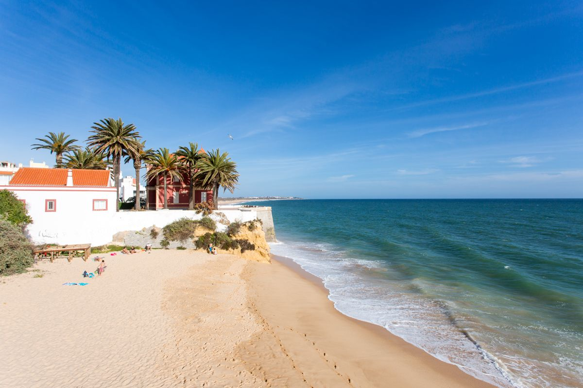 Image result for Golden sands of Armaçao de Pera Beach –Algarve, Portugal