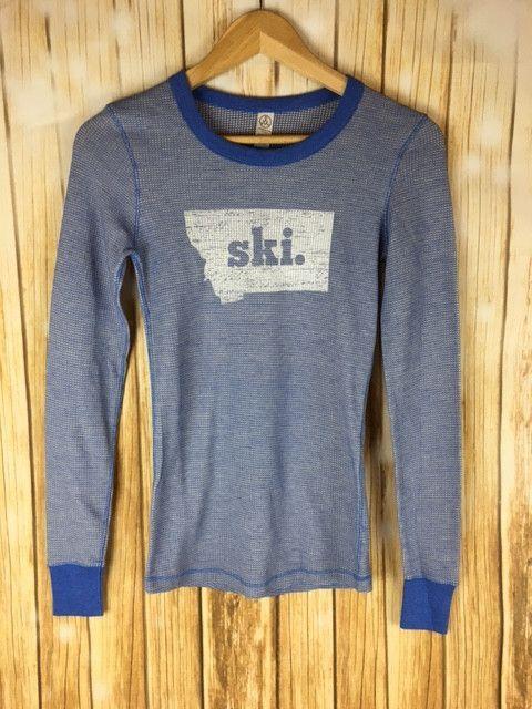 Montana Shirt Co Ski Thermal Long Sleeve Clothing Skiing