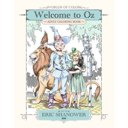 Welcome to Oz: Adult Coloring Book