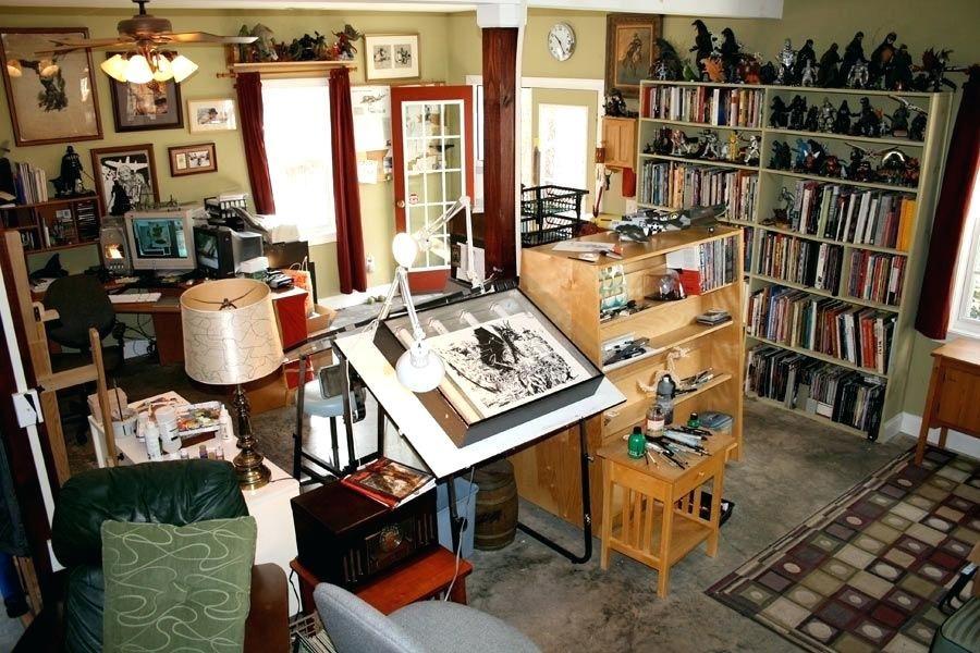 32 creative art studio organization ideas for workspace