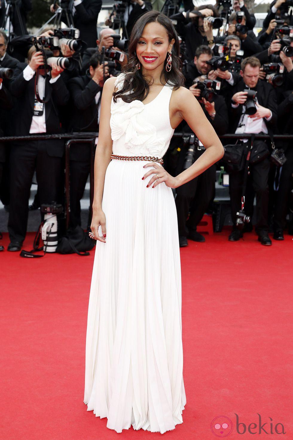Zoe Saldaña, Cannes 2014