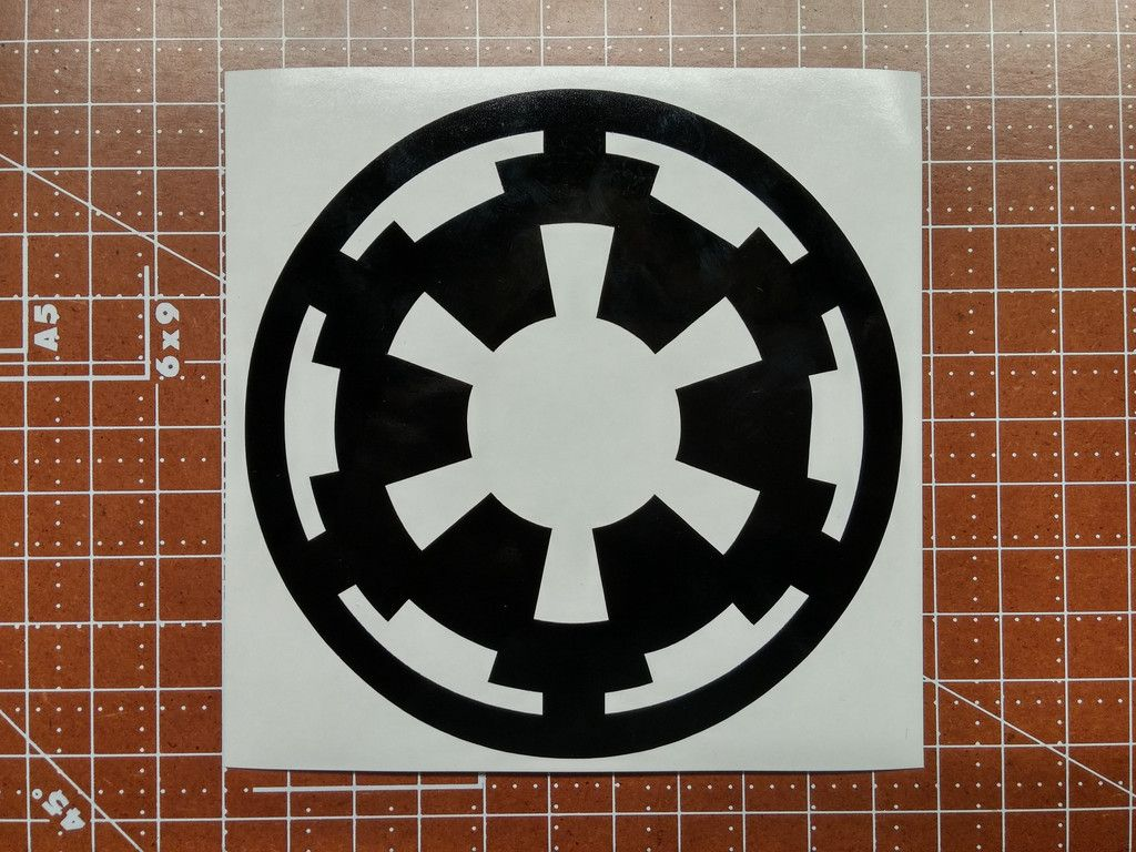 Galactic Empire Decal