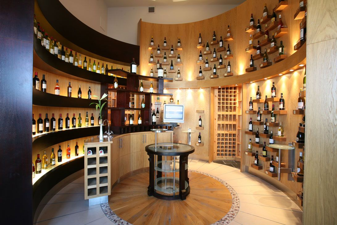 now this is a cool room but wine needs to be stored on it s side now this is a cool room but wine needs to be stored on it s side so the corks stay wet that way they don t shrink and let in the unwanted