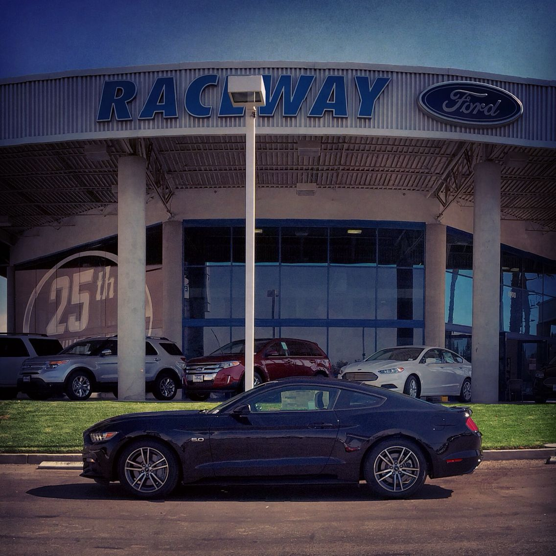 No caption needed, right?! #2015Mustang #RacewayFord