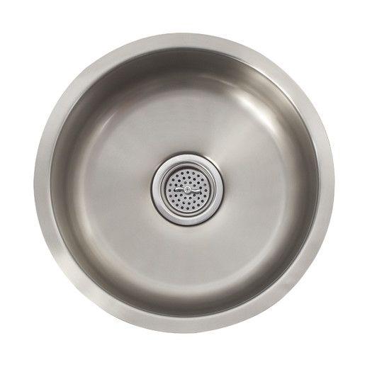 Schon 16 Quot X 16 Quot Single Bowl Bar Sink Bar Sink Sink