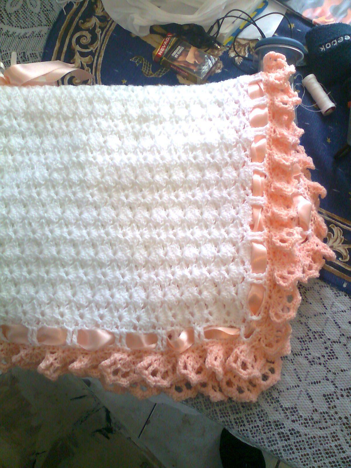 Beti Crochet !!: Manta de bebe !! | Crochet mantas | Pinterest ...