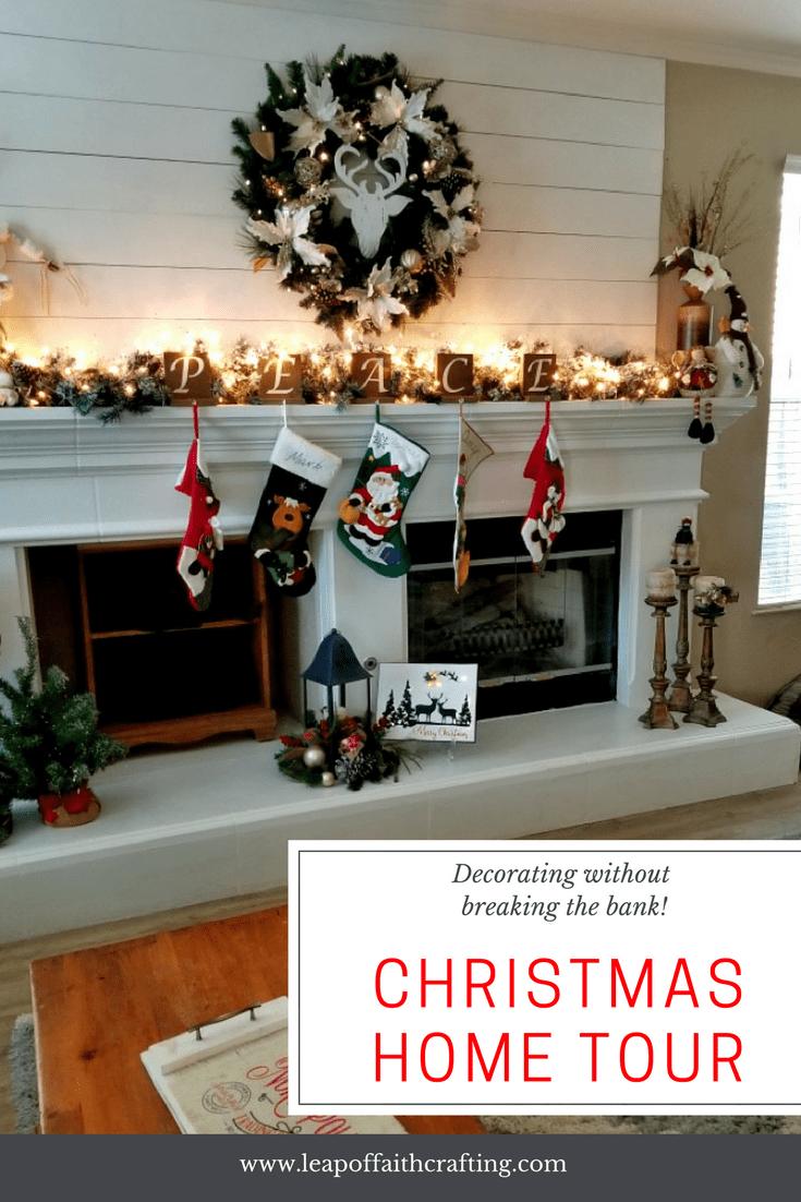 Christmas Home Tours Interior Christmas Decorating Ideas Diy