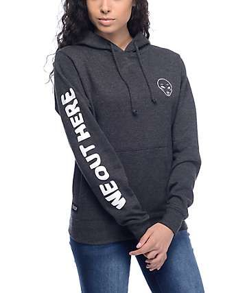 RipNDip Get Outer Here Charcoal Pullover Hoodie  6dd04e8aa895
