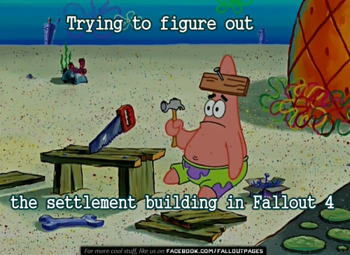 I have no idea what Im doing  viaFallout Pageson Facebook  fallout fallout 4