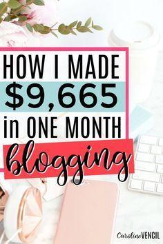 June 2017 Blogging Income Report | How to make money, Make ...