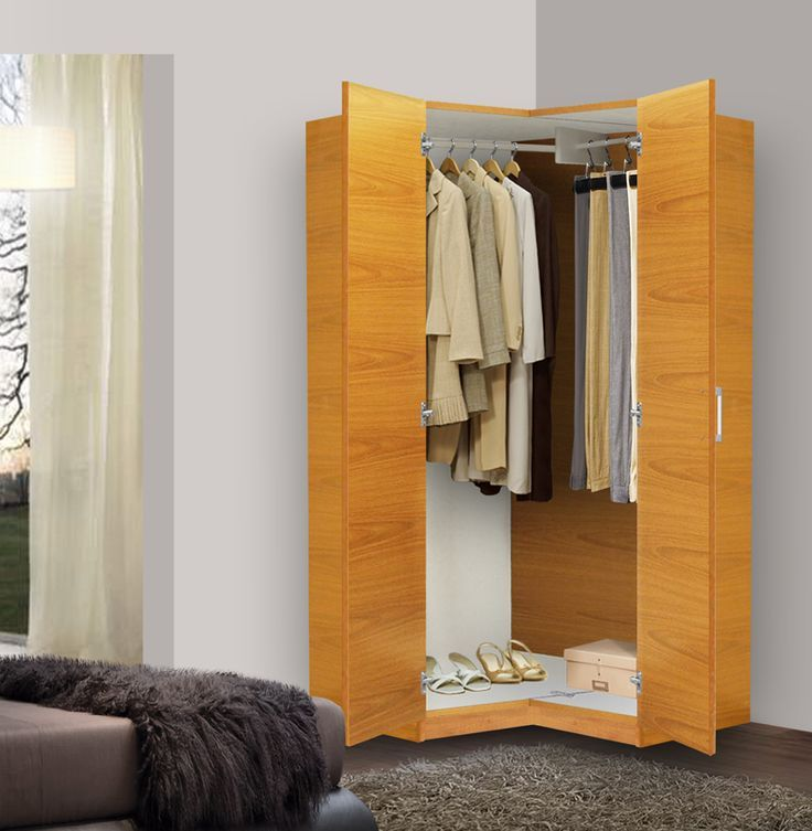 Attirant Good Idea For Constructing A #closet   Triangle Form Will Save Space In The  #