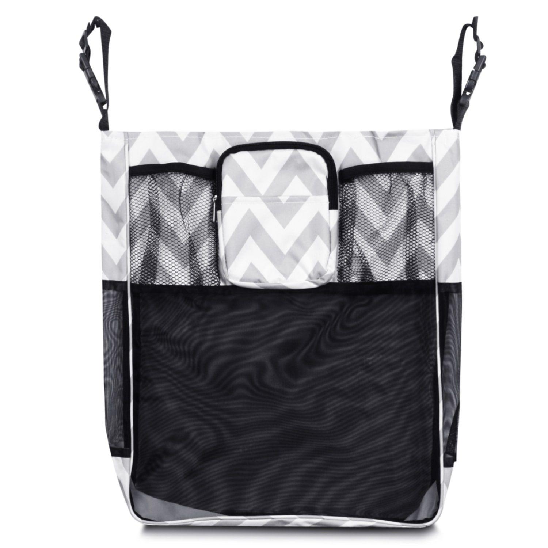 Zodaca Gray/ White Chevron Baby Cart Strollers Bag Buggy
