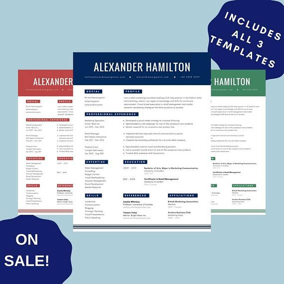 Teacher Resume Template For Adobe PDF | 1 3 Page Educator Resume | Creative  Teacher